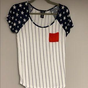 Rue 21 American flag T-shirt